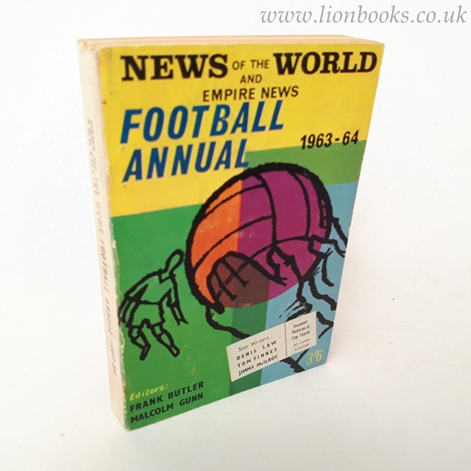 Image for News of the World Football Annual 1963-64