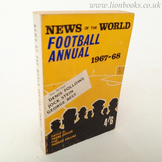 Image for News of the World Football Annual 1967-68