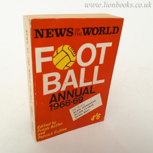 Image for News of the World Football Annual 1968-69
