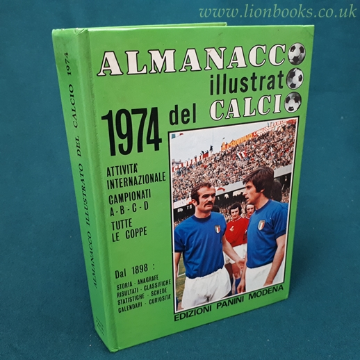 Image for Almanacco Illustrato Del Calcio 1974