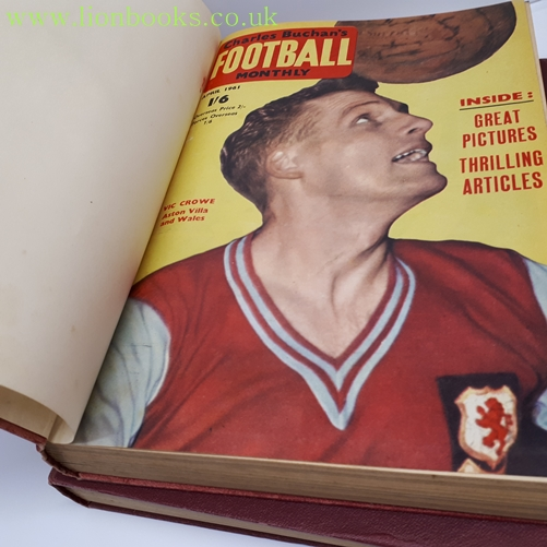Image for Charles Buchan's Football Monthly Oct 1960 - Aug 62 23 Magazines in 2 Vols.