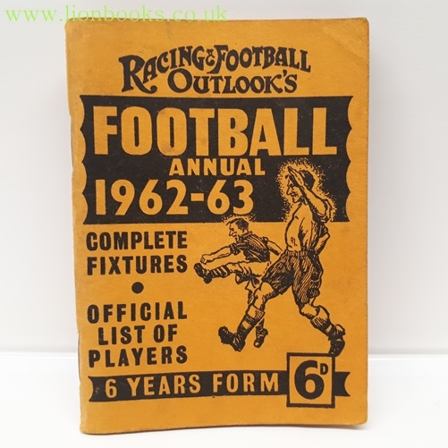 Image for Racing & Football Outlook's Football Annual 1962-63